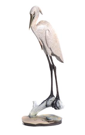 Heron on Sand Base 16""