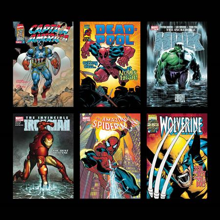 Marvel Superheroes - Portfolio of 6 - 2018